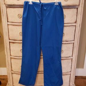 Cherokee Workwear Royal Blue Scrub Pants Medium